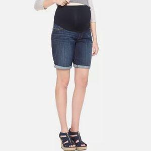 LIZ LANGE NEW S M XL Denim Jean BERMUDA Shorts